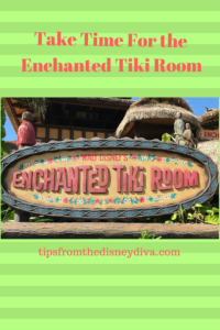 Entrance to The Enchanted Tiki Room at Walt Disney World