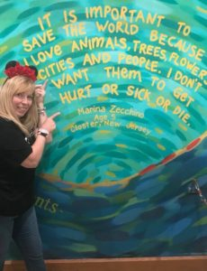 Wall at Walt Disney World