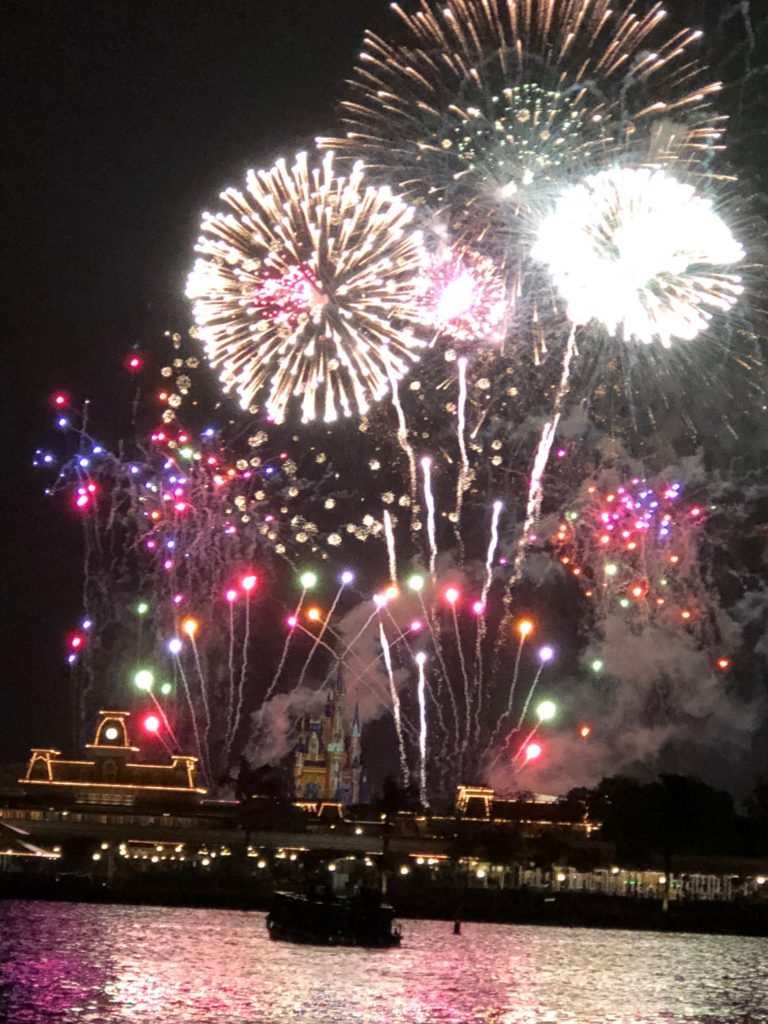 Pirate and Pals Dessert Voyage Fireworks at Magic Kingdom