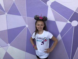 Purple Wall at Magic Kingdom