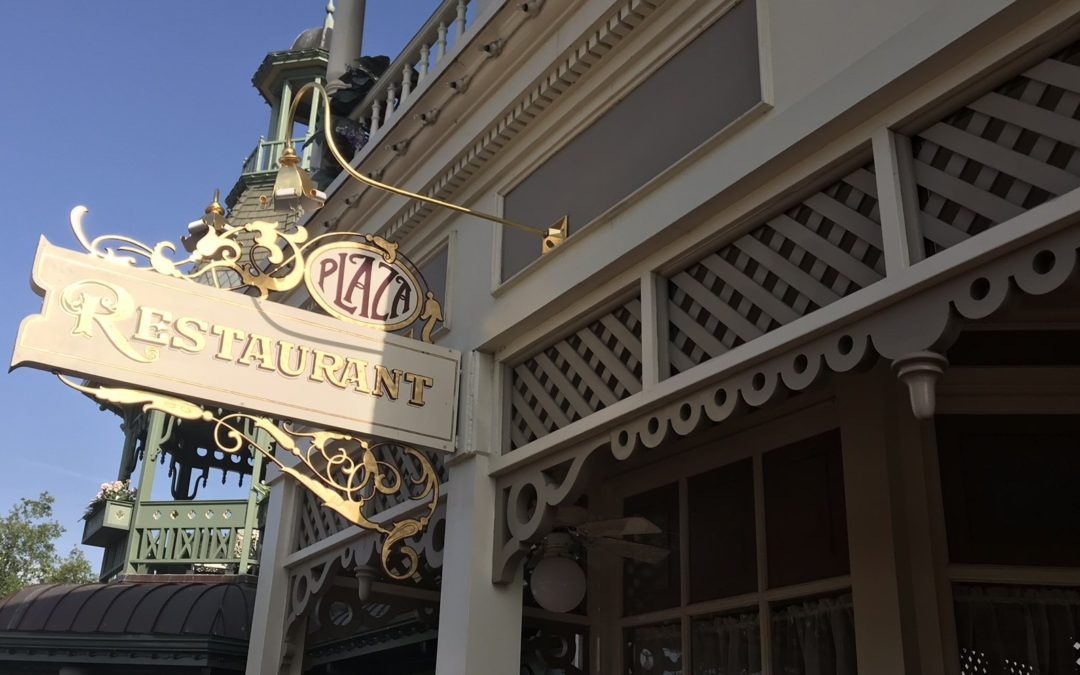The Plaza Restaurant at Magic Kingdom: The Little Place You May Never Have Noticed (and that's okay)