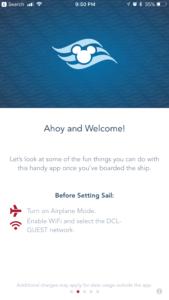 Navigator App, Disney Cruise Line planning, onboard tips