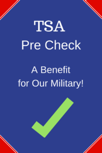 Active Duty eligible for TSA Precheck