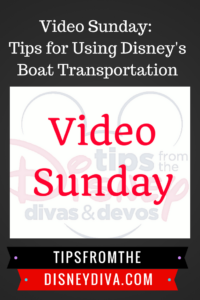 Tips for Using WDW Boat Transportation