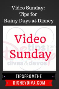 Video Sunday: Rainy Days at Disney