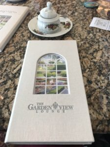 Garden View Tea Grand Floridian