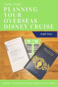 Tips for Planning an overseas Disney Cruise, Disney Magic, Fantasy, Wonder, Dream, Europe, Mediterranean