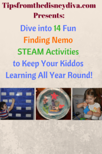 STEAM Activities- Teaching with Finding Nemo