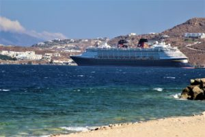 Disney Cruise Line Magic, Mediterranean, cruise ship, Mykonos, Greec
