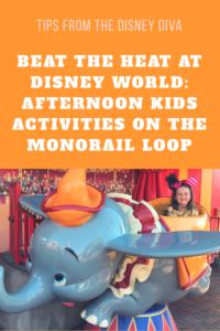 Beat the Heat at Disney World: Afternoon Activities on the Monorail Loop