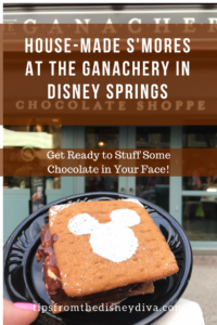 House Made Smores at The Ganachery in Disney Springs