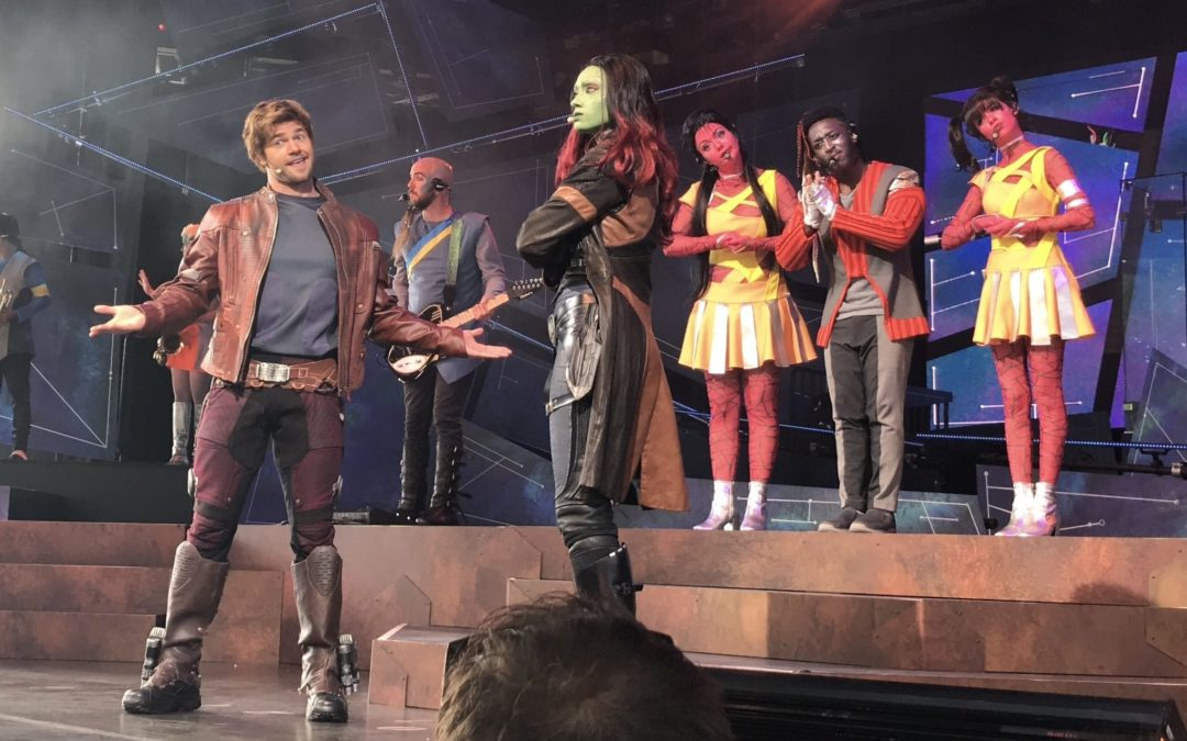 "Epcot's ""Guardians of the Galaxy – Awesome Mix Live!"" Really is Awesome!"