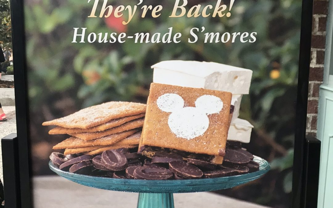 House-made S'mores at The Ganachery in Disney Springs: Get Ready to Stuff Some Chocolate in Your Face!