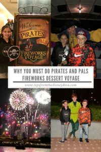 Why You Must Do Pirates and Pals Fireworks Dessert Voyage