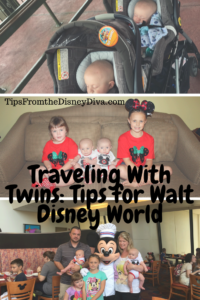 Traveling with Twins: Tips for Walt Disney World