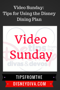 Video Sunday: Tips for Using the 2018 Disney Dining Plan