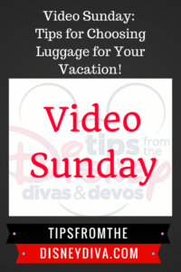 Video Sunday: Tips for Choosing Luggage for Your Vacation!