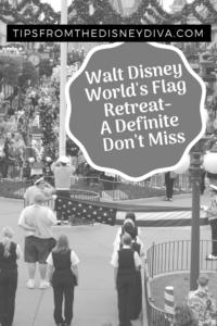 Walt Disney World's Flag Retreat- A Definite Don't Miss