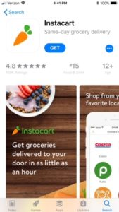 Grovery Delivery Instacart App