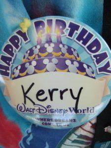 Disney celebration buttons