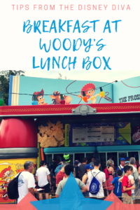 Breakfast at Woody's Lunchbox