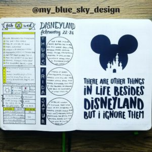 Disneyland, Hidden Mickey, Castle, quote, Disney Quote, Design, Bullet Journal