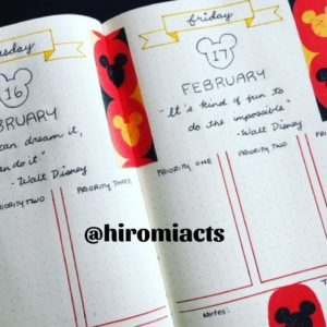 Bullet Journal, Mickey, Hidden Mickey, Disney Side, Organize, Daily Organization, Planner