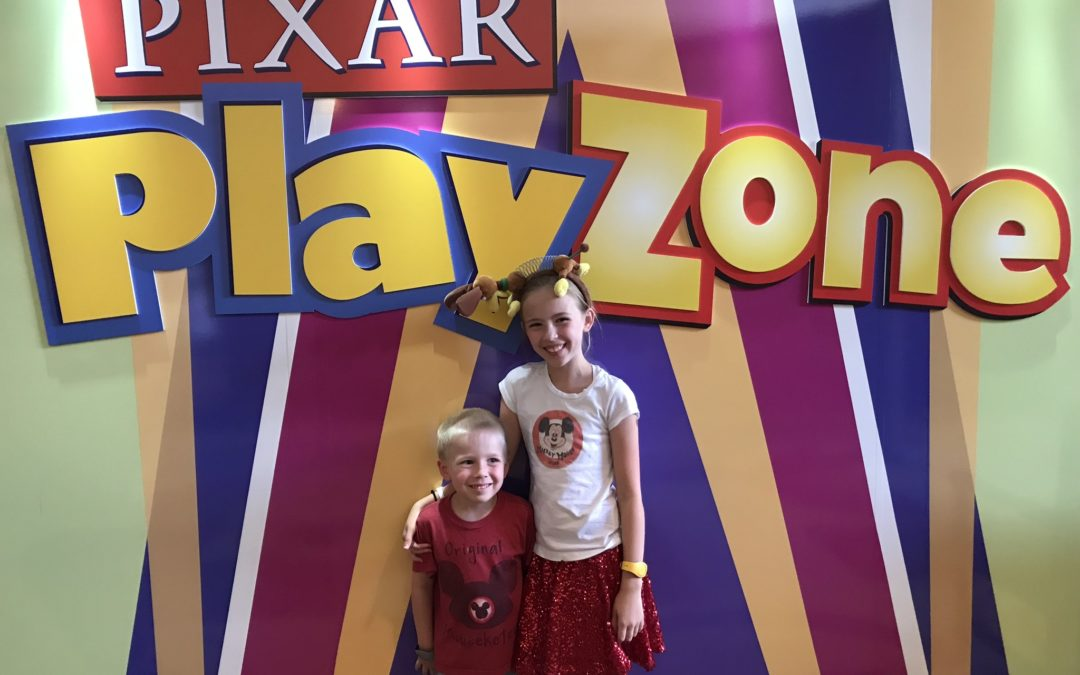 Pixar Play Zone: A Character Experience Just for Kids!