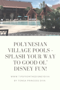Polynesian Village Polls- Splash Your Way to Good Ol' Disney Fun!