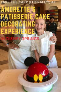 Amorette's Patisserie Cake Decorating Experience in Disney Springs