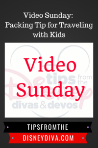 Video Sunday: Packing Tip for Traveling with Kids