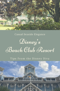 Casual Seaside Elegance at Disney's Beach Club Resort