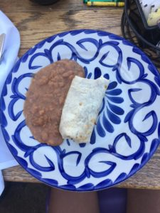 Kids Burrito at Tortilla Jo's