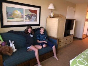 Interior Paradise Pier Hotel Room