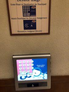 Disney Paradise Pier Hotel Elevator