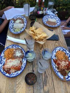 Dinner at Tortilla Jo's