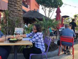 Outside Seating at Tortilla Jo's