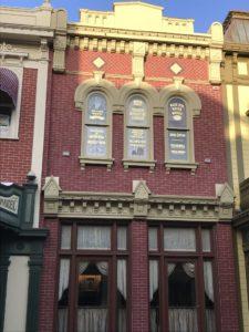 Windows on Walt Disney World's Magic Kingdom Main Street