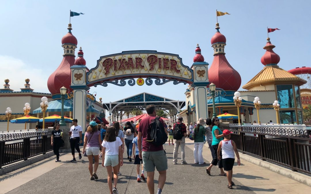 A Tour of Pixar Pier at Disney California Adventure