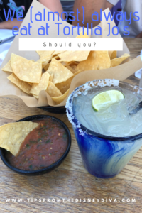We (almost) aways eat at Tortilla Jo's. Should you?