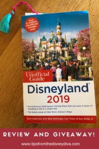 Review and Giveaway 2019 Unofficial Guide to Disneyland