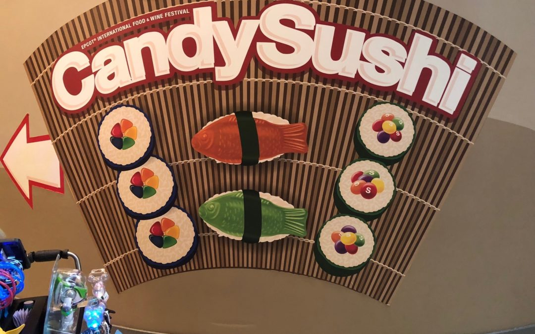 Candy Sushi Culinary Workshop at the Epcot International Food & Wine Festival
