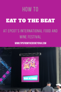 How to Eat to the Beat at Epcot's International Food and Wine Festival