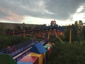 Early Morning in Toy Story Land