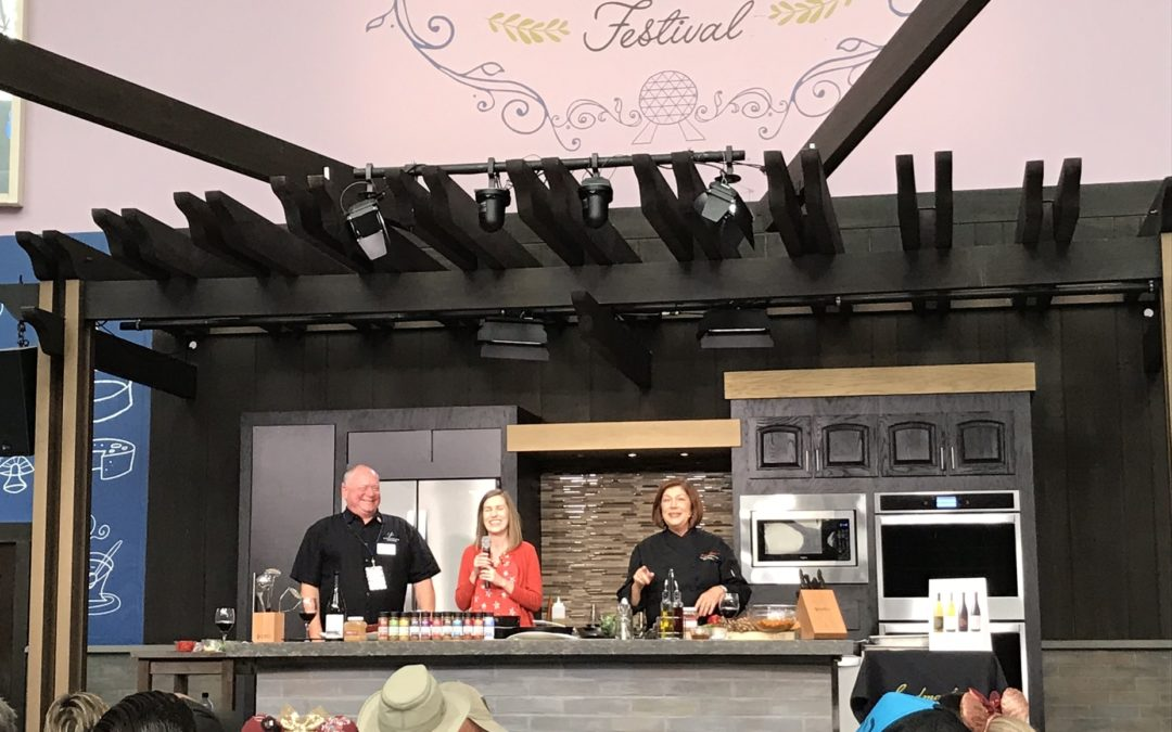 Eat, Drink & Be Merry – Food and Beverage Pairing Demonstrations at the 2018 Epcot International Food & Wine Festival