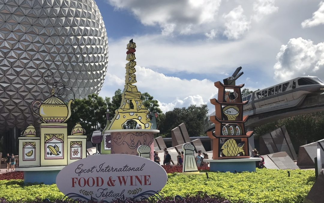 Tasting Our Way Around the World – Epcot International Food & Wine Festival