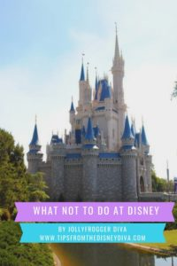 What Not To Do At Disney