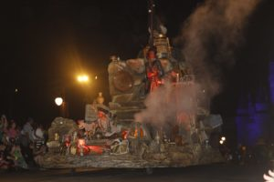 Haunted Mansion Float at the Boo to You Parade