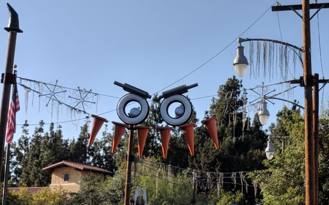 Have a Spooktacular Time in California Adventure's Carsland!