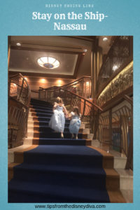 DCL Staying on the Ship - Nassau